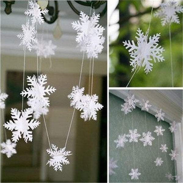 Christmas Decoration 12 Silver White Cardboard Skewers