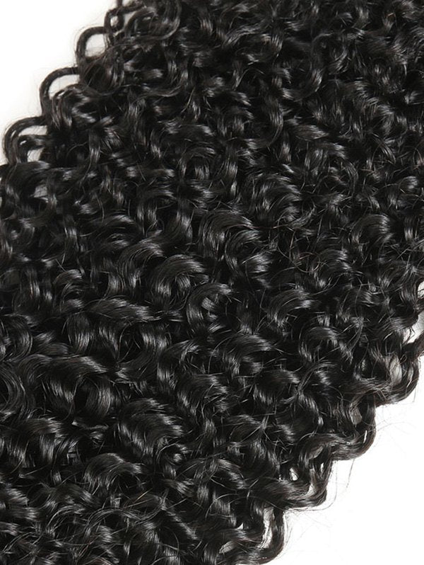 1Pc Jerry Curly Brazilian Remy Human Hair Weave