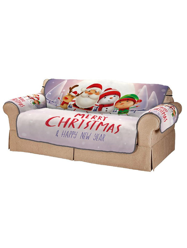 Christmas Companions Pattern Couch Cover