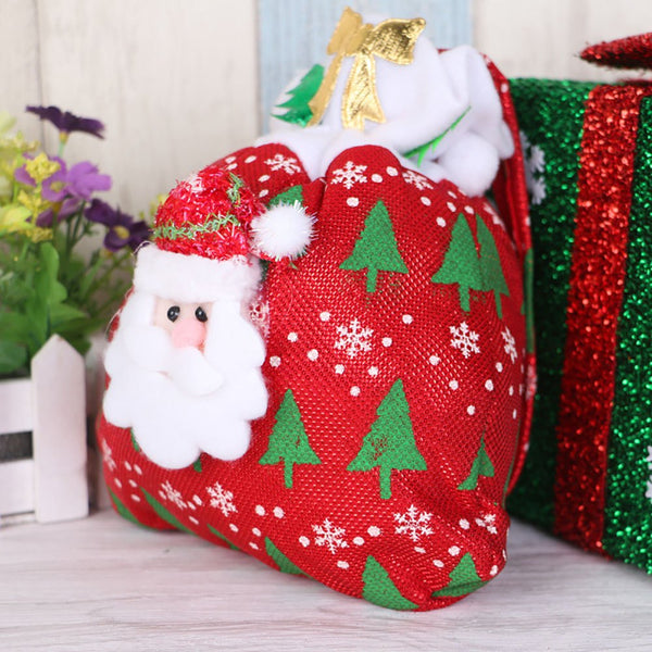 Santa Claus Gift Bag Candy Bag