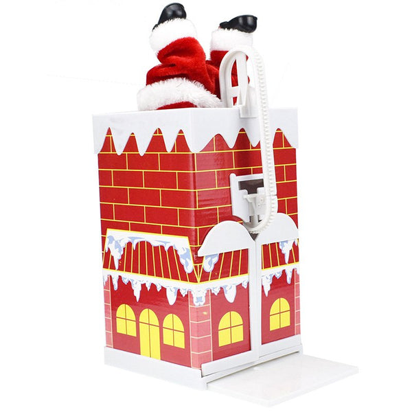 Santa Doll with Music Electric Toy Christmas Gifts