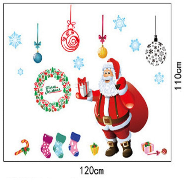 Christmas Window Stickers AY226A+B
