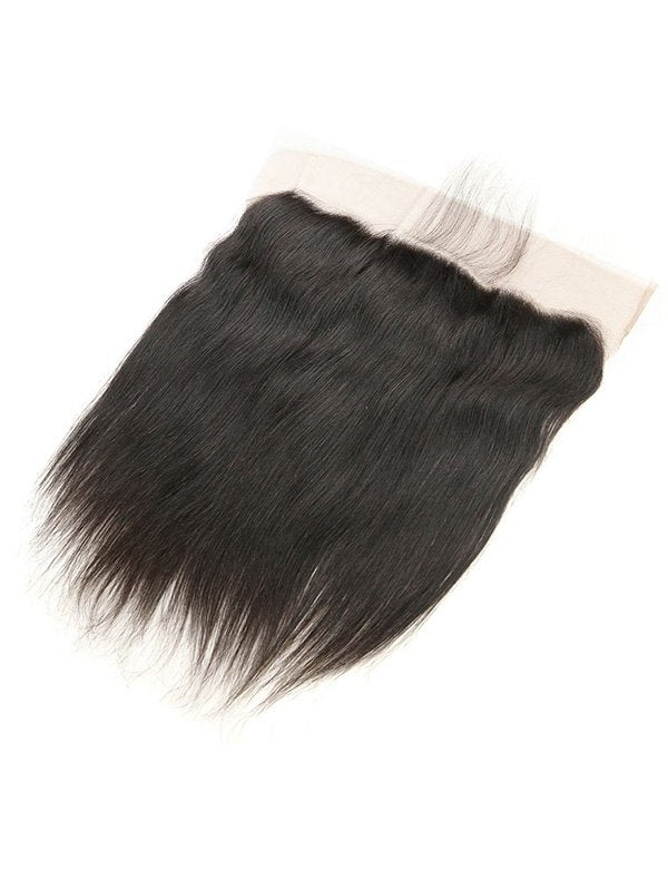 Brazilian Real Human Hair Straight Lace Frontal Closure