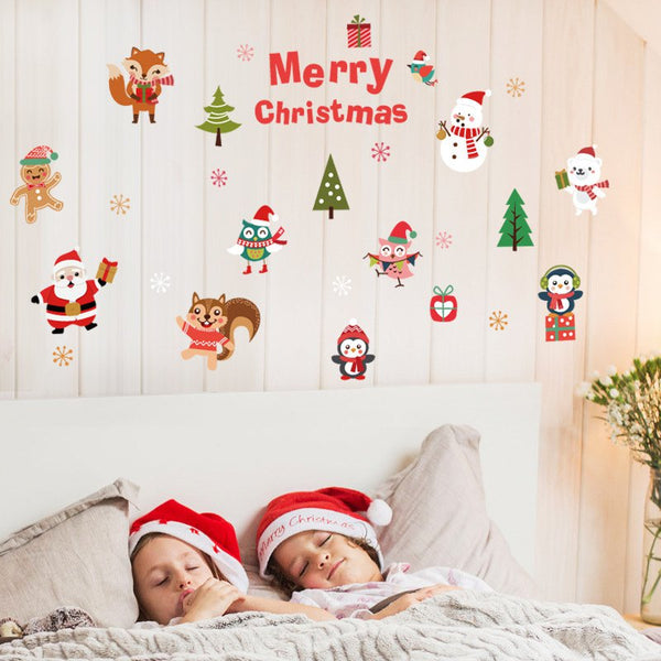 Christmas Window Window Sticker Door Sticker SK6038