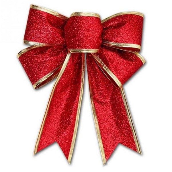Christmas Decoration Bow pendant 5PCS