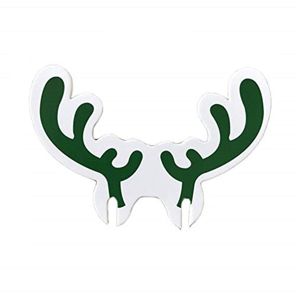 Christmas Moose Antlers Wine Glasses Decoration New Year Party Supplies 10 PCS