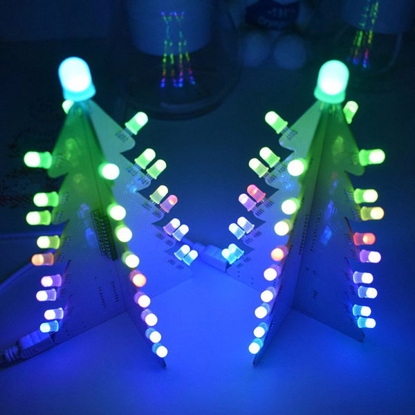 DIY Lighting Control Full Color LED Large Size Christmas Tree Tower