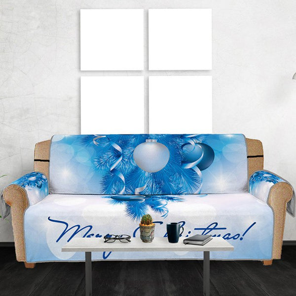 3D Digital Printed Sofa Cover Christmas Ball Pattern Cushion