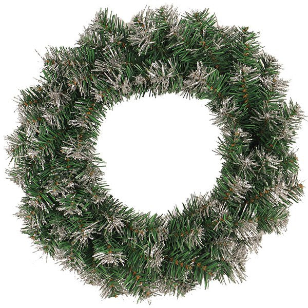 Gold Silver Powder Christmas Wreath Door Hanging Decoration