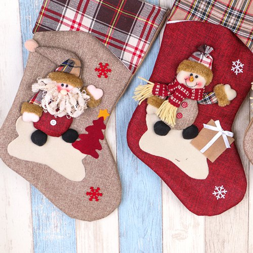 Christmas Decorations Large Old Man Stockings