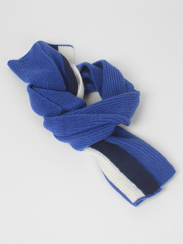 Winter Color Block Thick Scarf