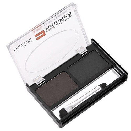 ME0011 Two-color Eyebrow Powder Long-lasting Waterproof Cream with Brush