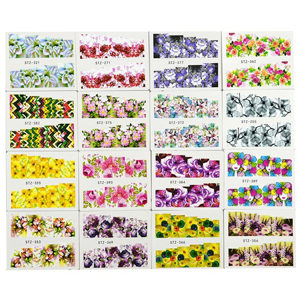 Nature Fresh Watermark Manicure Sticker Set
