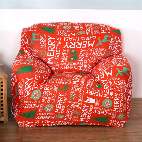Christmas Stretch Tight All Inclusive Full Cover Sofa Cover