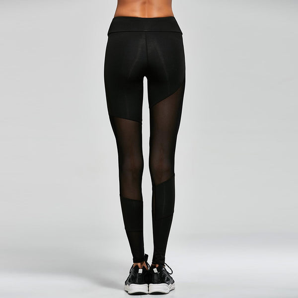 Mesh Gym Sports Leggings
