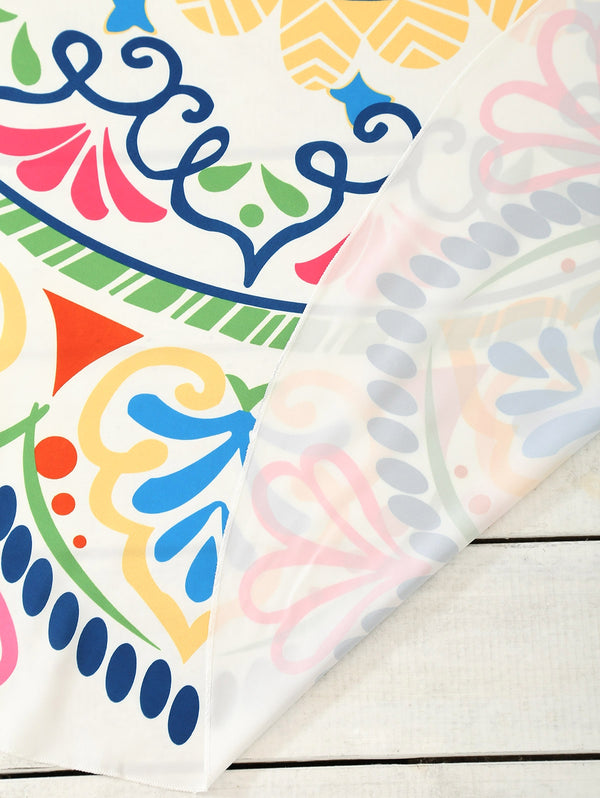 Cape Printed Circle Beach Throw