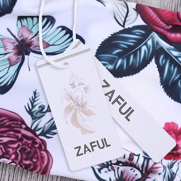 Floral Off The Shoulder Bikini Set