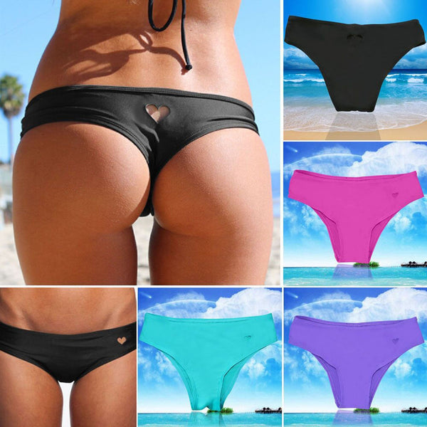 ZAFUL Stylish Lady Heart-shaped Swimming Briefs