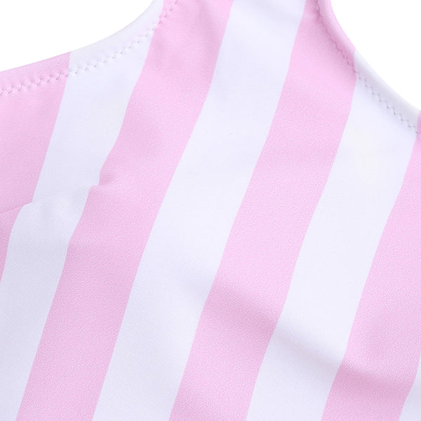 Shaping Striped Swimsuit