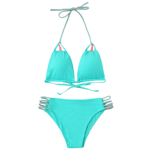 Sennit String Bikini with Pad·