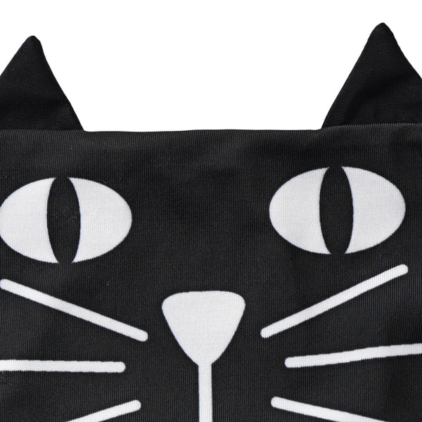 Cartoon Cat Halter Neck Bikini