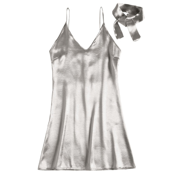 Satin Cami Party Mini Dress
