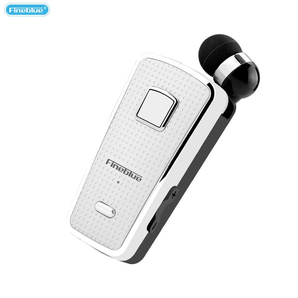 Fineblue F970 Retractable Wireless Bluetooth Earphones Clip-on Earbuds for Bussiness