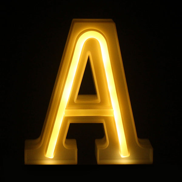 Small Letter Number LED Lamp Light Wedding Party Home Decoration