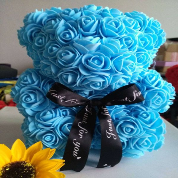Rose Bear Hug Bear Eternal Flower Handmade Soap Flower Valentine Day Christmas Gift