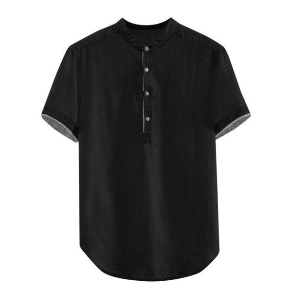 Men's Loose Cotton Large Shirts