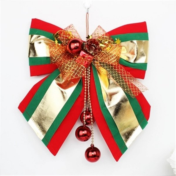 Christmas Ornament Large Bow Pendant