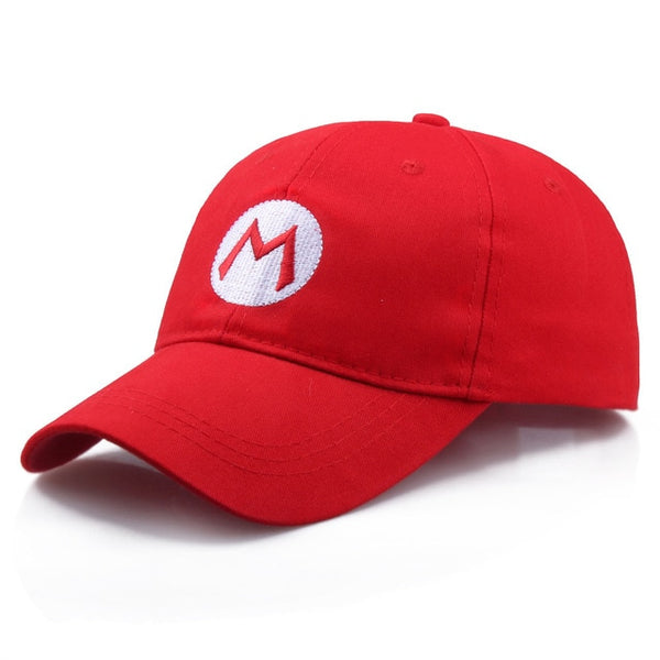 Role playing baseball cap letter embroidery hat