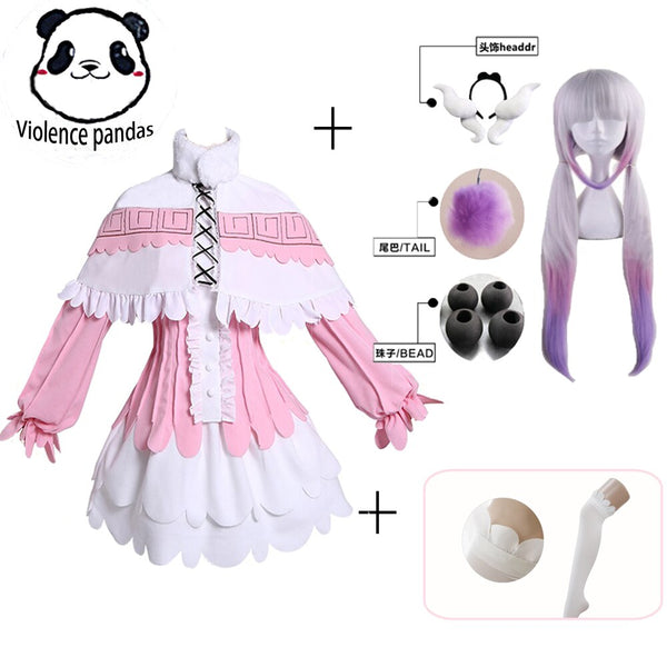 Clothing, Shoes & Accessories/Costumes & Reenactment Attire/Costumes/Women---Kanna Cosplay Japanese Anime Miss Kobayashi's Dragon Maid Kamui Costumes Halloween Party Kawai Dress For