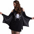 Autumn Hot 's Slim Dress Vestido long Sleeve dress Women's Halloween Play Party Costume Spider Web Print