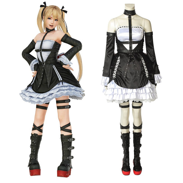 Costumes|||Cosplay|||Other Cosplay===Dead or Alive 6 Marie Rose Costume Cosplay Halloween Lolita Dress