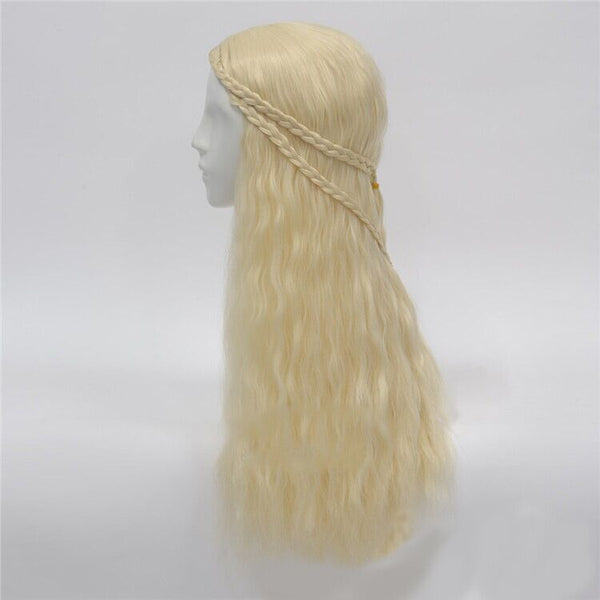 Game of thrones daenerys targaryen costume cosplay dress fantasia dragon wig halloween costumes for women plus size