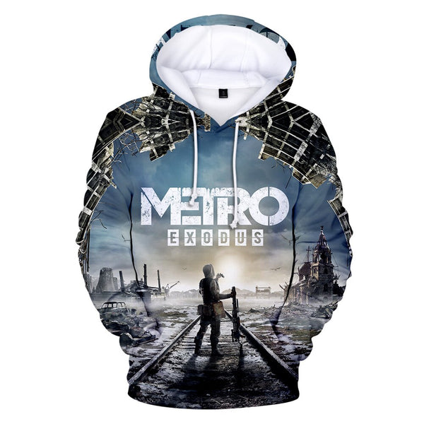 Costumes|||Cosplay|||Game Cosplay Costumes|||Fortnite===Metro Exodus clothes coat hot autumn and winter hooded sweatshirt coat unisex  couple parent-child  cosplay role-playing