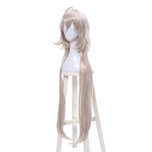 Costumes|||Cosplay|||Cosplay Wigs===L-email wig Fate/Grand Order Jeanne d'Arc Ruler Cosplay Wigs 95cm Long Heat Resistant Synthetic Hair Perucas Cosplay Wig