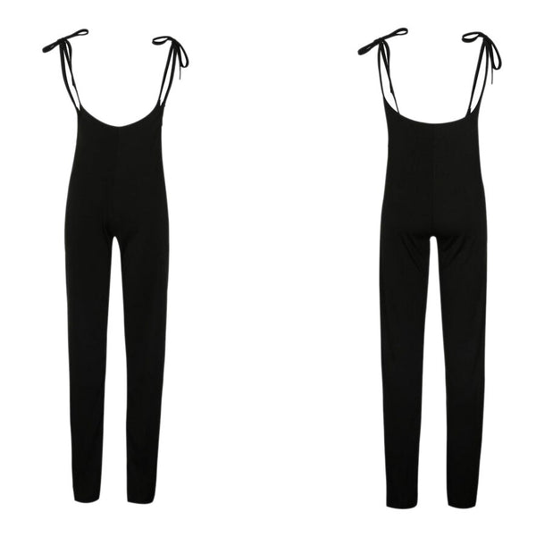 Clothing, Shoes & Accessories/Women's Clothing/Pants---Women Sexy jumpsuit High Waist Wide Leg Casual Lace Up Overalls Fashion Flare Trousers Female