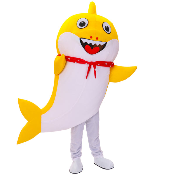 Costumes|||Cosplay|||Anime Merchandise|||Anime tattoo paster===Baby Shark Mascot Costume Cartoon Character Birthday Party Carnival Festival Fancy Cosplay Dress Adult Outfit