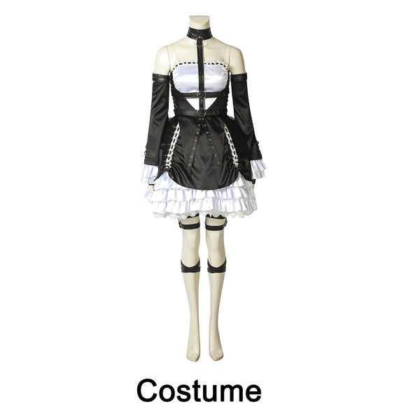 Dead or Alive 6 Marie Rose Costume Cosplay Halloween Lolita Dress
