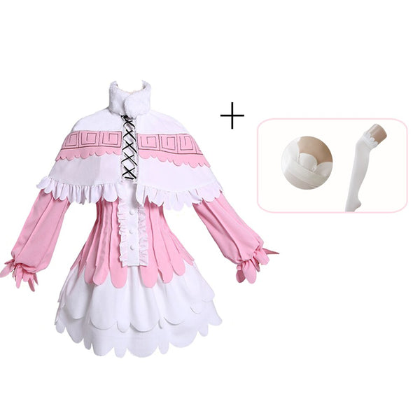 Kanna Cosplay Japanese Anime Miss Kobayashi's Dragon Maid Kamui Costumes Halloween Party Kawai Dress For
