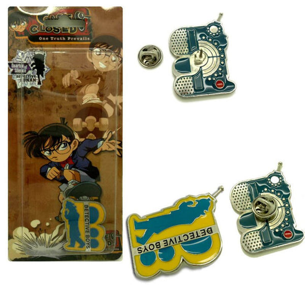 Costumes|||Cosplay|||Anime Merchandise|||Anime Jewelry|||Anime Necklaces===1PC Anime Detective Conan Cosplay Prop Communicator Necklace Cosplay Brooch Anime Props Badges Pendant Accessories