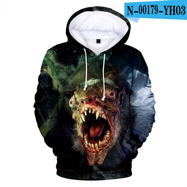 Metro Exodus clothes coat hot autumn and winter hooded sweatshirt coat unisex  couple parent-child  cosplay role-playing