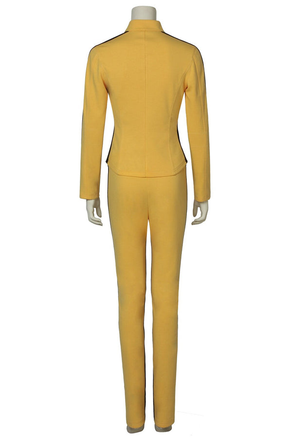 Costumes|||Cosplay|||Other Cosplay===HOT Cakes Kill Bill Costume The Bride Cosplay Jacket Fearful Killer Fancy Uniforn Custom Made Unisex Halloween Outfit Suit