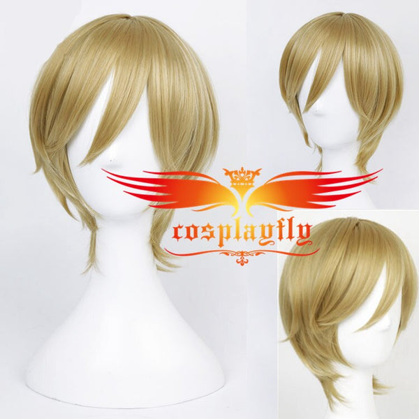 Ensemble Stars Tomoya Mashiro Adult  For Costume  Adult Hairpiece Periwig Headwear