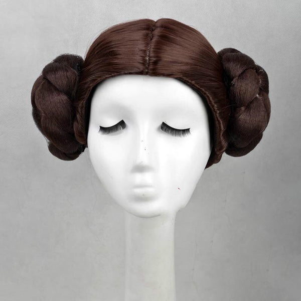 Costumes|||Cosplay|||Movie TV Drama Cosplay Costumes|||Star Wars===Princess Leia Organa Solo Cosplay White Long Dress Wig Set Woman Star Wars Cos Costumes Halloween Carnival Cosplay Disguisement