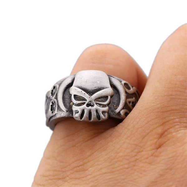 MS Jewelry ONE PIECE Ring Ace Whitebeard Hot Anime Vintage Silver Men Women Rings Cosplay male Friendship Gift