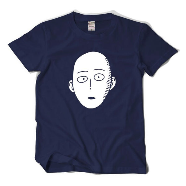 New One Punch Man Saitama cosplay t-shirt Cartoon Cool Men tshirt Women Cotton Loose Short-sleeve Tees tops