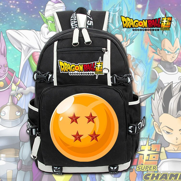 Costumes|||Cosplay|||Anime Merchandise|||Anime Bags|||Anime Backpacks===Dragon Ball Z Backpack Cosplay Dragon Ball Super USB Charging Backpack Super Saiyan Schoolbag Travel Bags Laptop Shoulders Bag